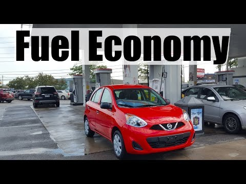 2018 Nissan Micra - Fuel Economy MPG Review + Fill Up Costs
