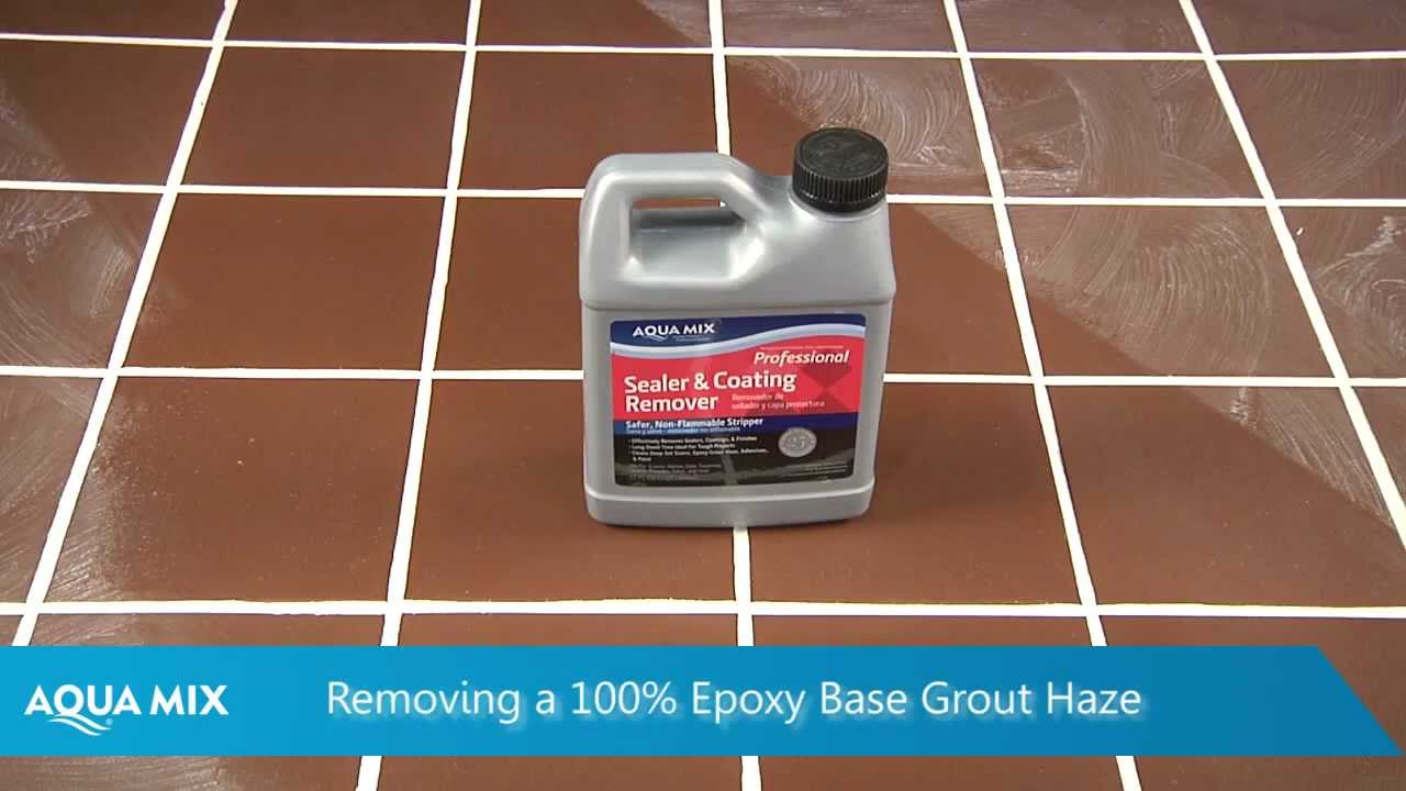 How To Remove Epoxy Grout Haze Using Aqua Mix Sealer And