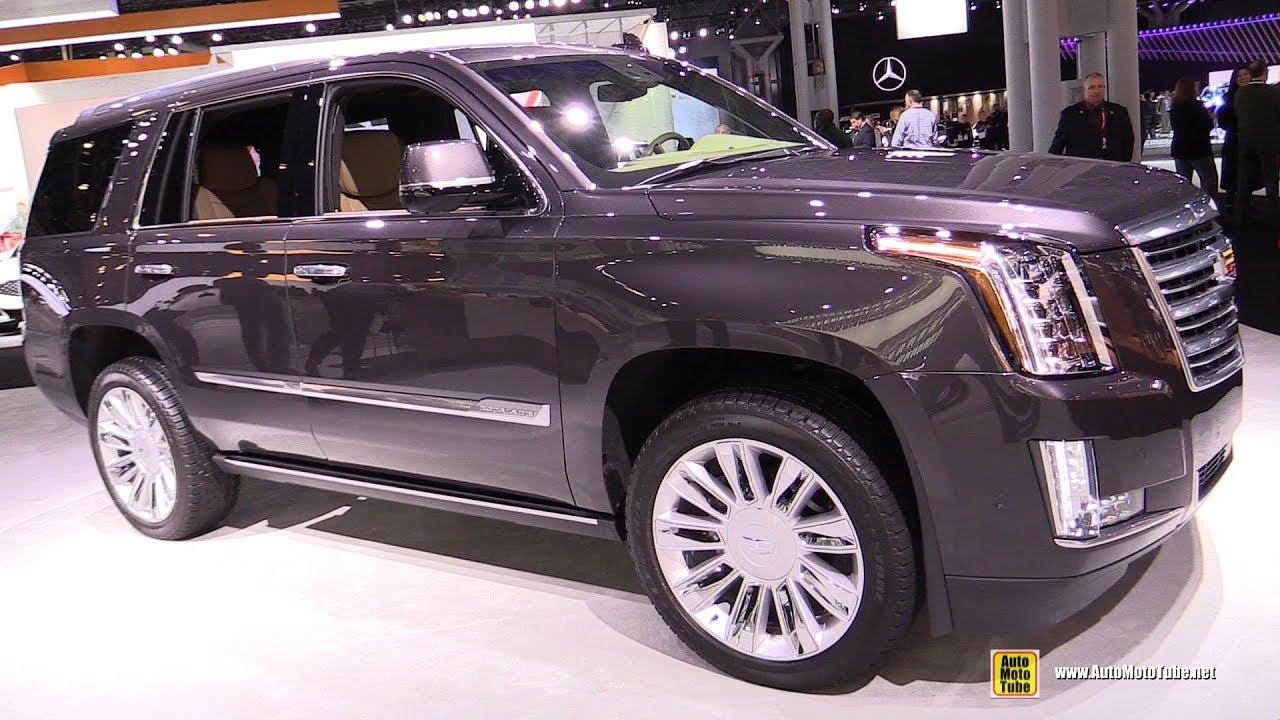 2018 Cadillac Escalade Platinum Exterior And Interior Walkaround 2018 New York Auto Show