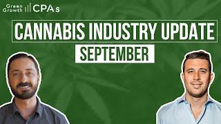 Cannabis Industry Update – September 2020