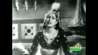 Aaja Ab To  Aaja Meri Kismat Ke Kharidar Lata ANARKALI 1953 KK0