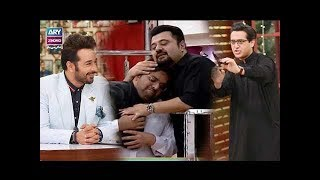 Funniest Moment's of Syed Shafaat   Ahmed Ali Butt   Aadi   Faysal Qureshi   Faizan