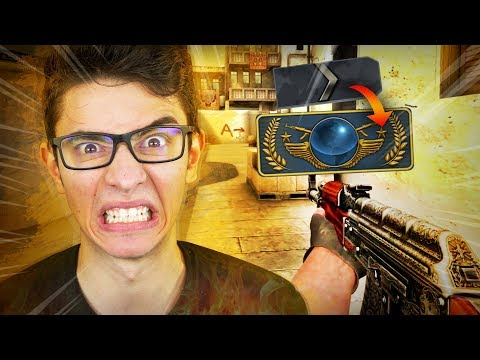 YOUTUBERS DE CLASH ROYALE NO COUNTER STRIKE! Prata ao Global #1