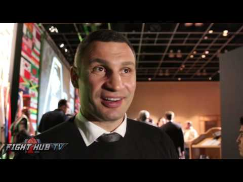 "Vitali Klitschko ""Joshua has to prove his skills!"" Wlad's biggest fault ""Not always 100% focused!"""