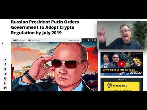 Putin Orders Russia To Adopt Crypto Regs In 2019