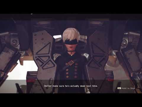 NieR: Automata Gameplay until first save point