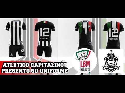 Atletico Capitalino Presento Su Uniforme Oficial En La Liga De Balompie Mexicano Youtube