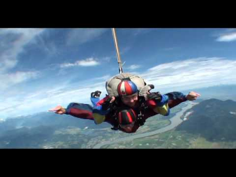 Third person Cameraman - Skydive Vancouver