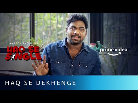 Zakir Khan - Haq Se Dekhenge, Free Mein Dekhenge | Amazon Prime Video
