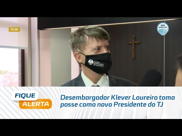 Desembargador Klever Loureiro toma posse como novo Presidente do Tribunal de Justiça