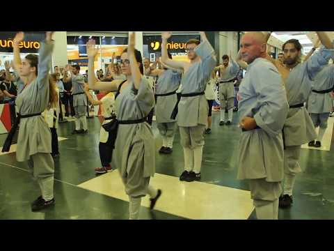 "Kung Fu demonstration at ""Le Masserie"" 