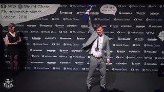 World Chess Championship 2018 Carlsen vs Caruana Tiebreak Report