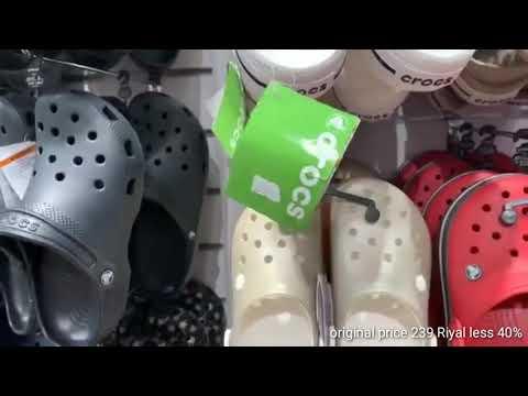 Crocs Store Nagsale Sa Lahat Ng Items