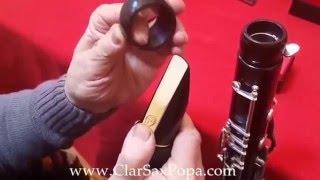Florian Popa Resonator, Barrel Bass Clarinet Yamaha: Ligature Vandoren Mouthpiece