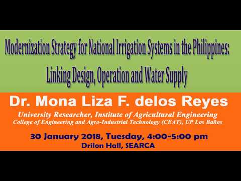 Modernization Strategy for National Irrigation Systems in the Philippines