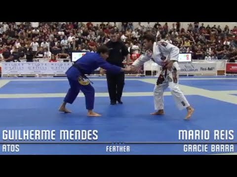 Mario Reis VS Guilherme Mendes / Pan Championship 2009