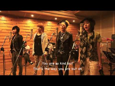 2ne1 - Lonely live studio English Translation lyrics