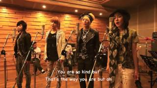 2ne1 - Lonely live studio English Translation lyrics