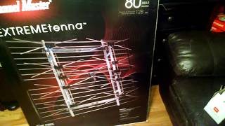 TV antenna project: UHF antenna and amplifier/diplexer