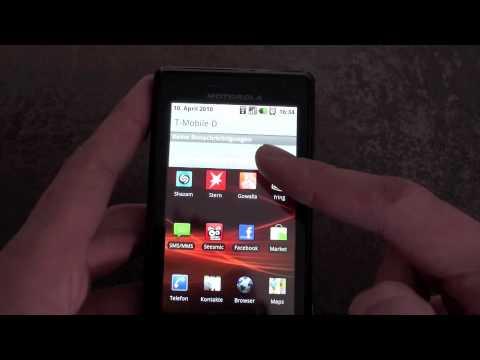 Motorola Milestone Erfahrungsbericht Teil 2