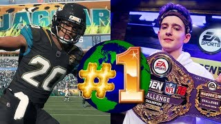 PLAYING THE #1 MADDEN 19 PLAYER IN THE WORLD!