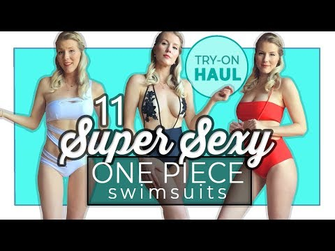 11 Super Sexy One Piece Swimsuits | The SEXIEST one pieces on the internet!