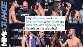 Daily Debate: Which UFC 238 fight might produce the next title challenger in its division?