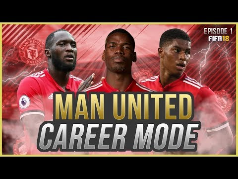 FIFA 18 Career Mode: Manchester United #1 - BARCELONA PRE-SEASON CHALLENGE!! (FIFA 18 GAMEPLAY)