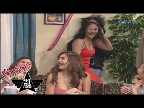 'Bubble Gang' Bloopers: Julie Anne San Jose, ninerbyos kay Lovely Abella
