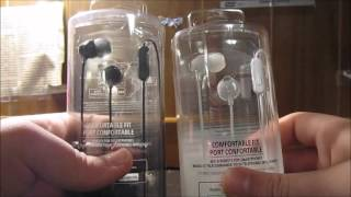 Unboxing: Sony MDR-EX15AP Earbuds