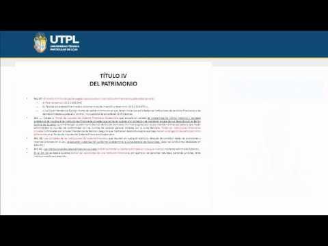 UTPL LEY GENERAL DE INSTITUCIONES DEL SISTEMA FINANCIERO II [(LEGISLACIÓN MONETARIA Y BANCARIA)]