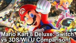 Mario Kart 8 Deluxe: Switch vs 3DS/Wii U - The Ultimate Handheld Mario Kart