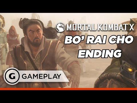 Bo Rai Cho Defends Outworld Ending - Mortal Kombat XL Gameplay