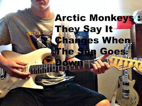 Arctic Monkeys : When The Sun Goes Down : Guitar Lesson
