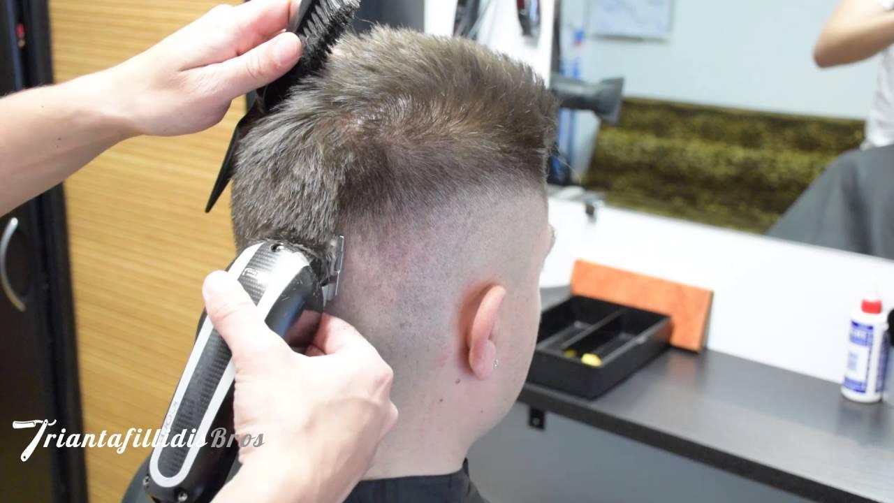 Army Haircut In Hd Fast Forward By Triantafillidis Bros Youtube