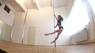 Intermediate Spinning Pole Combo Routine