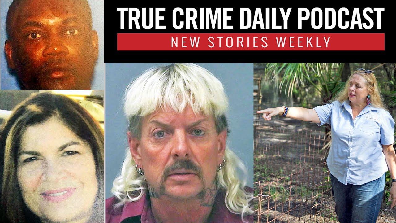 'Tiger King's' 'Joe Exotic' seeks Trump pardon; man kills mother, daughter 23 years apart - TCDPOD