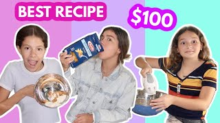 WHO CAN MAKE THE BEST RECIPE WINS $100.00 SISTER FOREVER