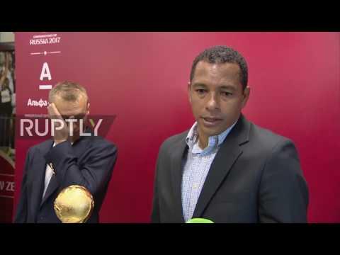Russia: Silva praises organisation of 2017 FIFA Confederations Cup