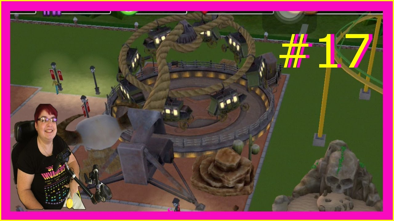 Rollercoaster Tycoon touch 17 Twisted Twizzler
