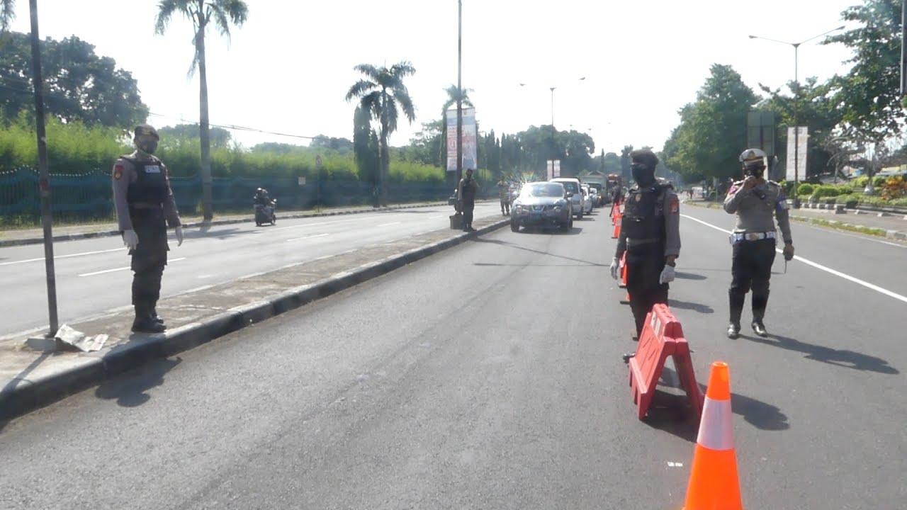 Penyekatan Ketat Pintu Masuk Yogyakarta
