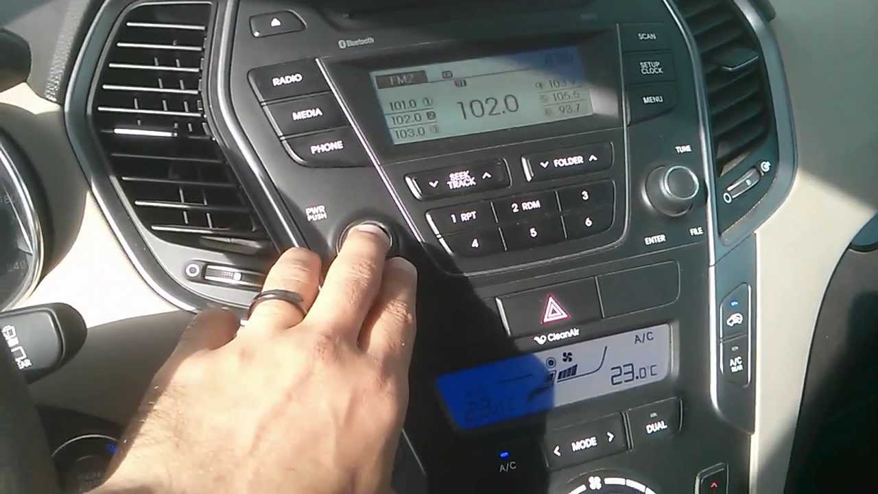 Hyundai Santa Fe 2013 Computer Ecu Start Up Failure
