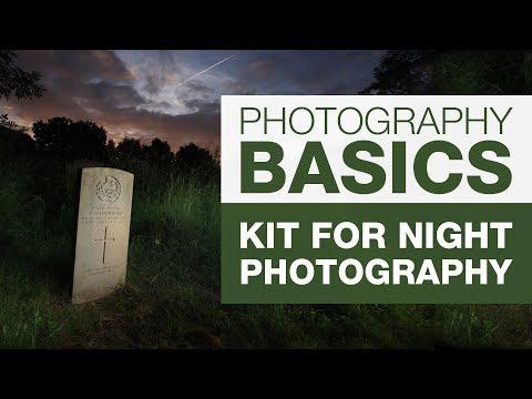 PHOTOGRAPHY BASICS | Kit for Night Photography