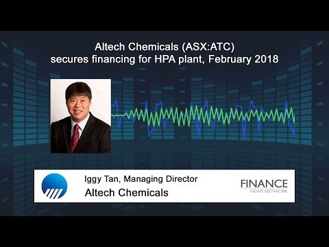 Altech Chemicals (ASX:ATC) secures financing for HPA plant