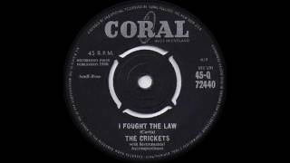 The Crickets - I Fought The Law (1960)