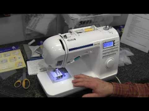 Baby Lock Grace YouTube Magnificent Babylock Grace Sewing Machine