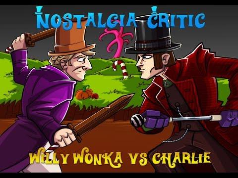 Old vs New: Willy Wonka vs Charlie - Nostalgia Critic
