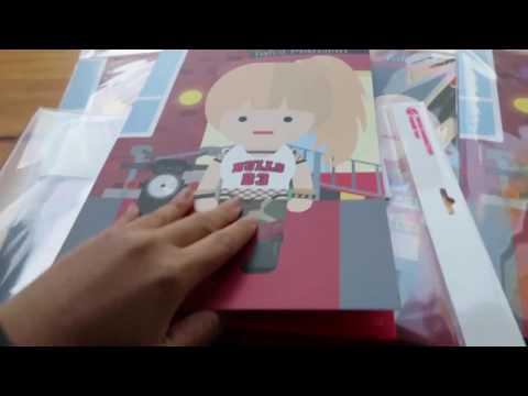 Momo Twice Character Paper Toy from Twice Store Unboxing in Cafe 트와이스 모모