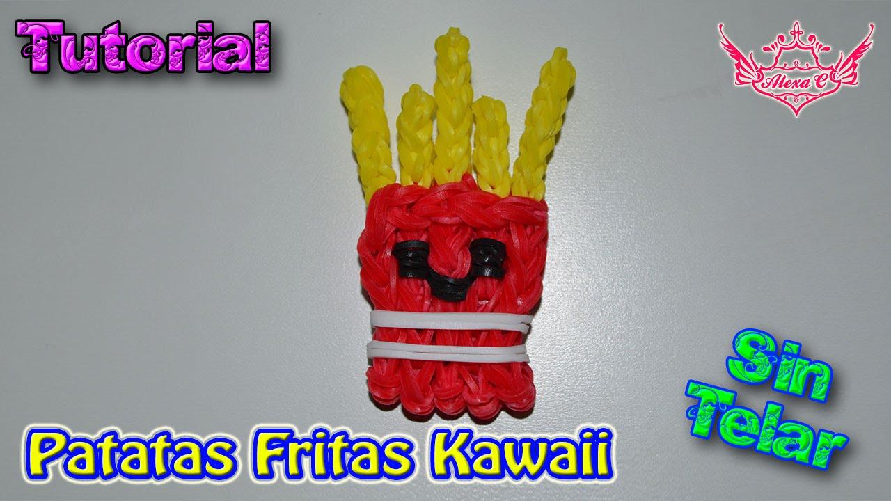 Tutorial: Patatas Fritas Kawaii (sin Telar) ♥