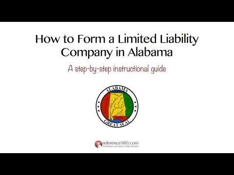 How To Form An LLC In Alabama